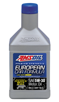 AMSOIL European Car Formula Synthetic 5W-30 Motor Oil