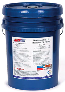 AMSOIL Biodegradable Hydraulic Oil - ISO 46