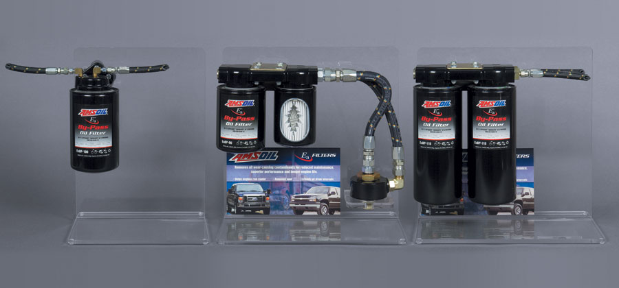 Bypass Oil Filter Mounting Kits