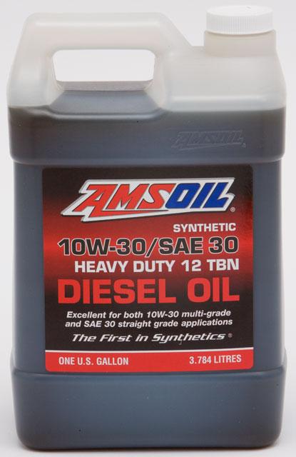 5w30 Vs 10w30 >> AMSOIL SAE 30 Synthetic Diesel Oil
