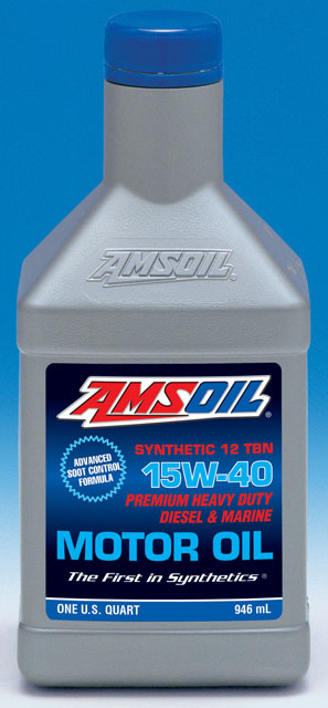 amsoil sae 15w 40 synthetic heavy duty diesel marine motor oil. Black Bedroom Furniture Sets. Home Design Ideas