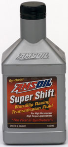 AMSOIL Supershift Racing Transmission Fluid