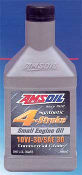 Amsoil 10W-30 4-stroke small engine oil