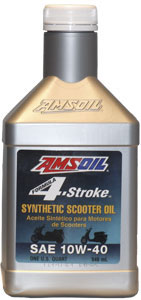 Amsoil 4-stroke 10W-40 Scooter Oil