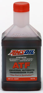 AMSOIL Synthetic Universal Transmission Fluid