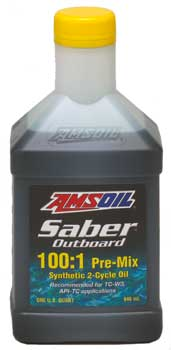 Saber Outboard Synthetic 2-Cycle Oil