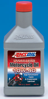 AMSOIL 10W-40 Motorcycle Oil