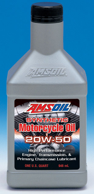 Amsoil sae 20w 50 synthetic motorcycle oil for Where can i get rid of used motor oil