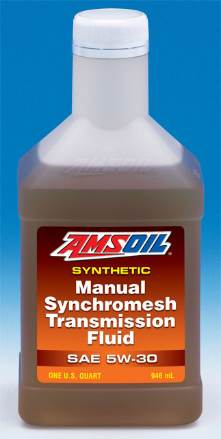 AMSOIL Synthetic Synchromesh Transmission Fluid 5W-30