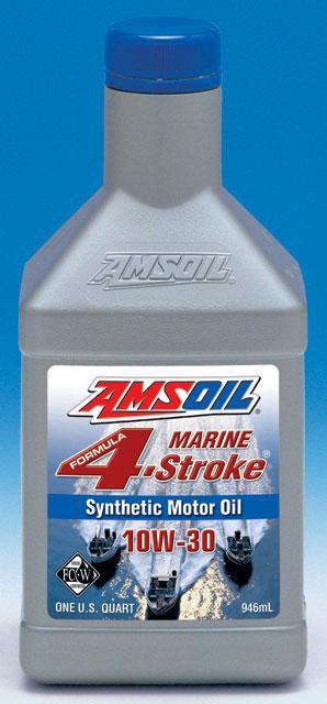 Amsoil Sae 10w 30 Formula 4 Stroke Marine Synthetic Motor Oil