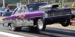 Woods Bros. Racing 67 Nova Big Wheelie